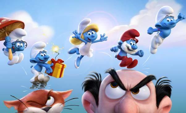 """""""Smerfy: poszukiwacze zaginionej wioski"""" nowy film animowany oSmerfach dla dzieci. Recenzja, opinie, opis fabuły"""