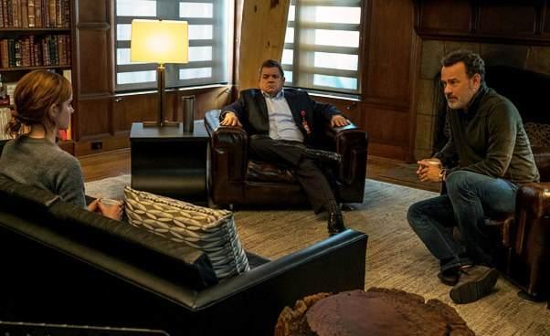 Film zEmmą Watson Tomem Hanksem The Circle Krąg 2017 obyczajowy dramat SF science fiction opracy wkorporacji inwigilacja