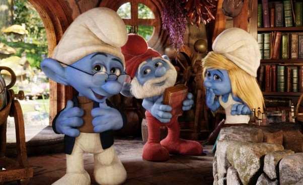 Opis filmu Smerfy 22013 komedia familijna Recenzja Obsada dubbing dla dzieci odilu lat Animacja 3D