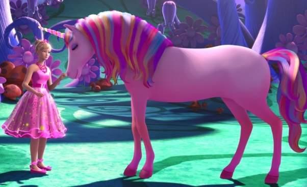 Barbie wszystkie bajki filmy dla dziewczynek animowane online Barbie itajemnicze drzwi