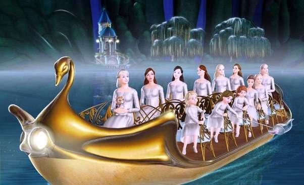 Wszystkie bajki oBarbie filmy animowane dla dzieci Barbie i12 Tańczących Księżniczek