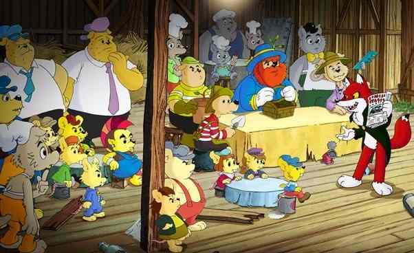 Ciekawa bajka animowana dla dzieci Miś Bamse iMiasto Złodziei szwedzka animacja dla przedszkolaków omisiu Opis