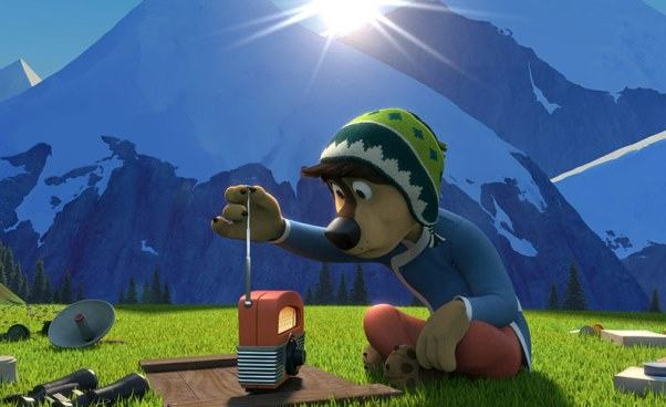 Ciekawa bajka dla dzieci animowana opsie Rock Dog Pies ma głos Opinie recenzja opis filmu
