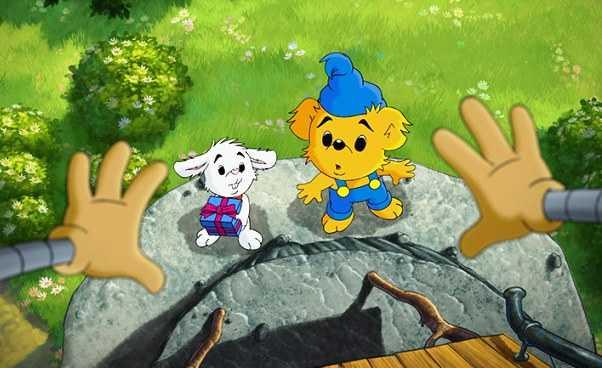 Miś Bamse i Miasto Złodziei szwedzka bajka animowana dla młodszych dzieci o misiu Opis opinie