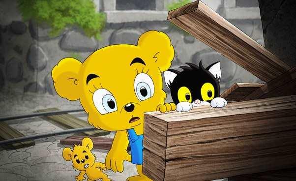Miś Bamse iMiasto Złodziei ciekawa bajka animowana dla młodszych dzieci omisiu Opis polecany film