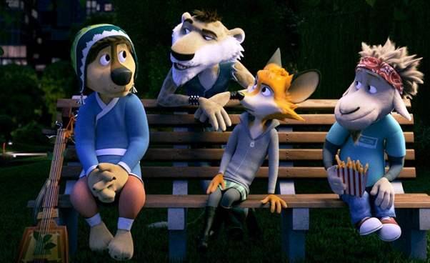 Opinie obajce Rock Dog animacja dla dzieci ośpiewającym psie Bono zgitarą Opinie recenzja