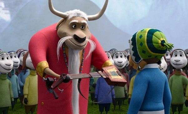 Rock Dog Pies ma głos bajka animowana dla dzieci opsie któryśpiewa gra nagitarze Opinie recenzja