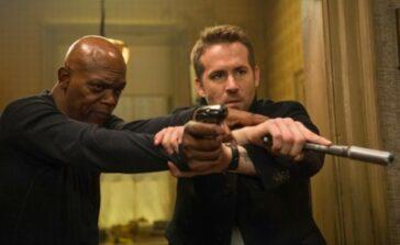 Bodyguard Zawodowiec sensacyjna komedia film akcji Samuel L Jackson Ryan Reynolds Recenzja