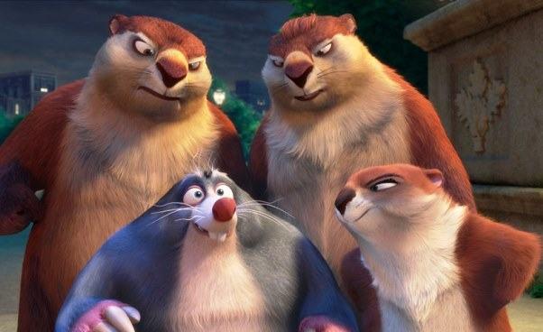 Ciekawy film dla dzieci Gang Wiewióra 2 animowana komedia familijna owiewiórce Opinie streszczenie Postacie