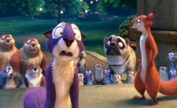 Druga część bajki Gang Wiewióra 2 animowana komedia familijna dla dzieci owiewiórce Recenzja Opis