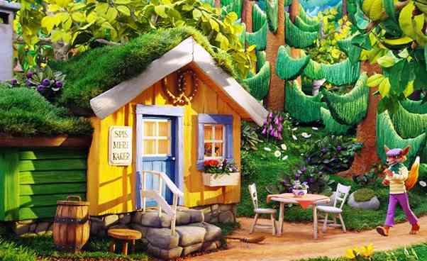 Ciekawy film animowany dla dzieci Oczym szumi las bajka skandynawska dla młodszych dzieci Recenzja