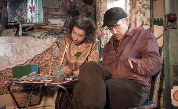 Film okanadyjskiej malarce którabyła chora Maudie melodramat film biograficzny Sally Hawkins Ethan Hawke