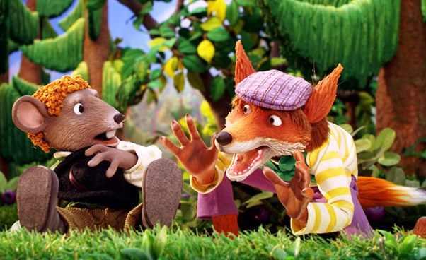 O czym szumi las bajka skandynawska dla dzieci o myszkach misiach i lisie Opinie Recenzja polecany film
