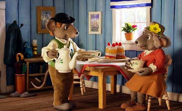 Opinie obajce Oczym szumi las skandynawska animacja dla dzieci myszkach misiach lisie wiewiórkach
