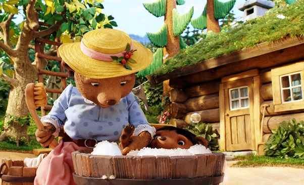 Skandynawska bajka dla dzieci Oczym szumi las film animowany omyszkach misiach lisie Opinie Recenzja opis fabuły