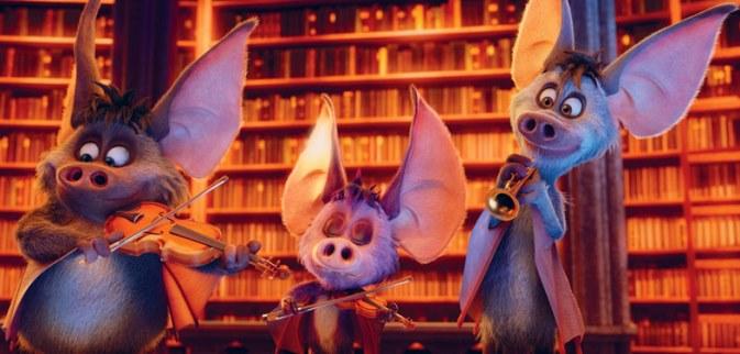 Animowana komedia familijna dla dzieci Potworna rodzinka 2017 onietoperzach iDrakuli Halloween Fabuła filmu