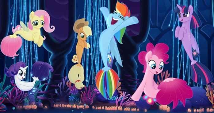 Imiona bohaterów postaci My Little Pony Film bajka animowana dla dzieci film pełnometrażowy opis fabuły streszczenie