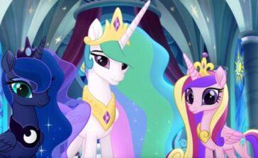 My Little Pony Film 2017 bajka animowana dla dzieci o kucykach i księżniczkach Film kinowy opis fabuły streszczenie opinie