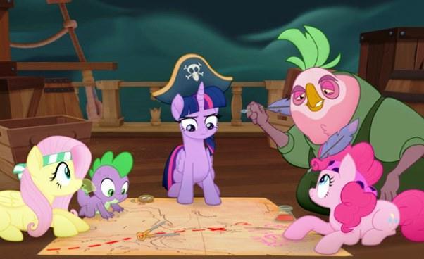 Opis fabuły bajki My Little Pony Film 2017 animacja dla dzieci wersja kinowa streszczenie imiona postaci księżniczek