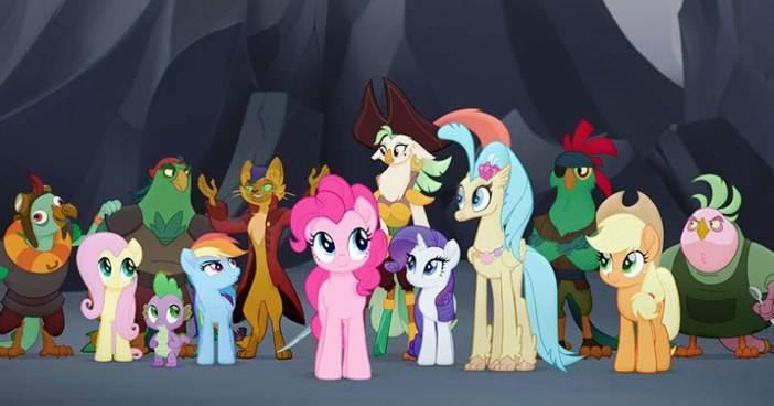 Streszczenie bajki My Little Pony Film 2017 dla dzieci księżniczka Skystar Film kinowy opis fabuły lista bohaterów imiona