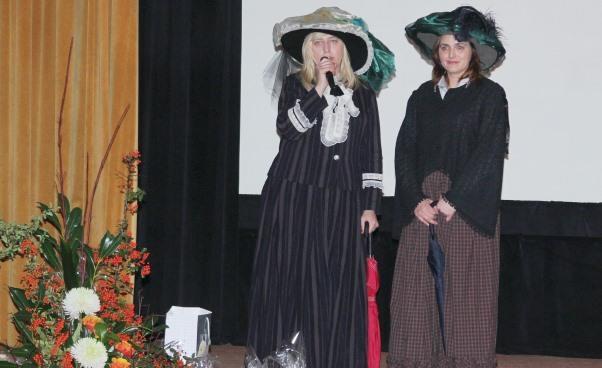 Kongres Kobiet Północnej Wielkopolski wPile relacja zwydarzenia Iwona Kamińska Lech Danuta Mozelewska