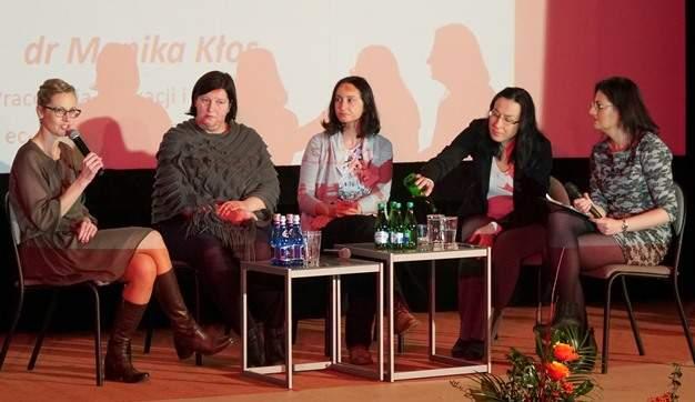 """""""Czas kobiet"""" panel dyskusyjny zudziałem Iwony Pacholec naKongresie Kobiet wPile. Relacja zwydarzenia"""