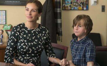 Cudowny chłopak wzruszający film familijny o chłopcu ze zdeformowaną twarzą Problem dyskryminacji w szkole