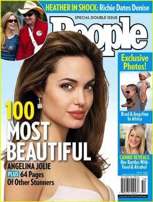 Lista najpiękniejszych kobiet naświecie chronologicznie odpoczątku wszystkie Angelina Jolie