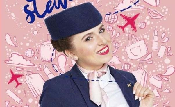 Jak zostać stewardessą Jak wygląda praca stewardesy Olga Kuczyńska książka Życie stewardesy recenzja opinie