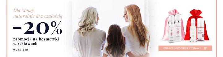 Zestawy prezentowe naDzień Matki kosmetyki naturalne