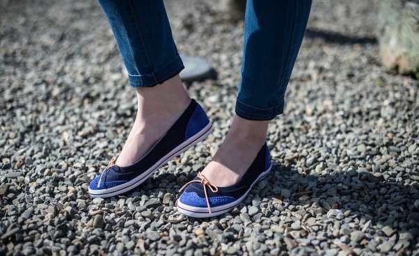 Baleriny dopracy zczym je nosić Wygodne buty dobiura