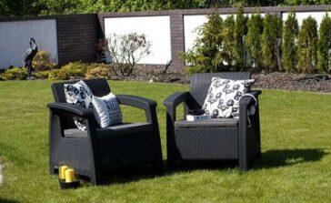 Poduszki na meble ogrodowe Rodzaje poduszek ogrodowych materiał kolor