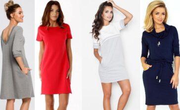 Sukienka dresowa idealny outfit na chłodne dni Przykłady sukienek dresowych na co dzień